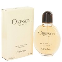 Obsession by Calvin Klein Eau de Toilette Spray 2.5 oz..