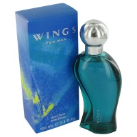 Wings by Giorgio Beverly Hills After Shave 3.4 oz..