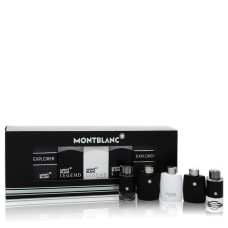 Montblanc Explorer By Mont Blanc Gift Set - 2 x 0.15 Mini EDT in Montb..