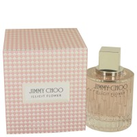 Jimmy Choo Illicit Flower By Jimmy Choo Eau De Toilette Spray 3.3 Oz..