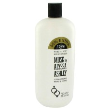 Musk by  Alyssa Ashley Body Lotion 25.5 oz