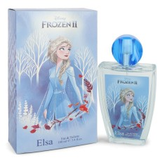 Disney Frozen Ii Elsa By Disney Eau De Toilette Spray 3.4 Oz..
