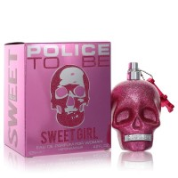Police To Be Sweet Girl by Police Colognes Eau De Parfum Spray 4.2 oz..