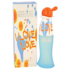 I Love Love by Moschino Eau de Toilette Spray 1.7 oz..