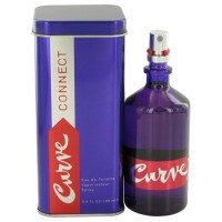 Curve Connect by Liz Claiborne Eau de Toilette Spray 3.4 oz..