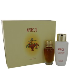 Apercu by Houbigant Gift Set - 1.7 oz Eau de Toilette Spray + 6.7 oz Body Lotion