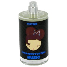 Harajuku Lovers Music by Gwen Stefani Eau de Toilette Spray (Tester) 3.4 oz