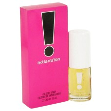EXCLAMATION by Coty Cologne Spray .375 oz..